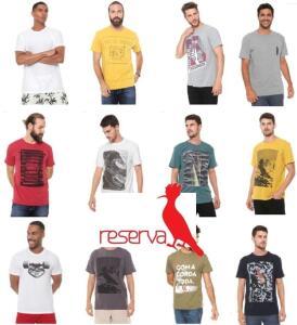 R$100 OFF em Compras acima de R$250 nas Camisetas da Reserva