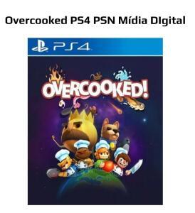 Overcooked - R$16 | PSN PS4