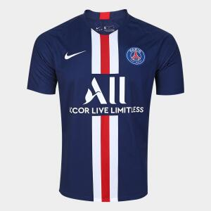 Camisa Paris Saint-Germain Home 19/20 s/n° Torcedor Nike Masculina - Marinho