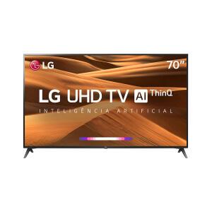 "Smart TV LED 70"" LG UM7370 Ultra HD 4K, HDR Ativo - R$4200"