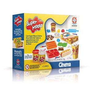Massinha Super Massa Cinema Brinquedos estrela R$ 25