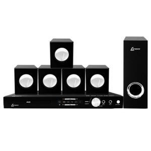Home Theater DVD Lenoxx, USB, Karaokê, 270W RMS - HT723 | R$299