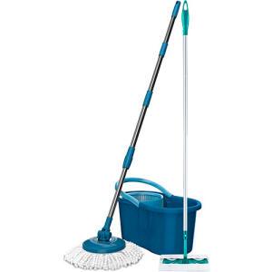 Kit Mop Giratório Azul At Home + Mop Easy Floor R$ 81