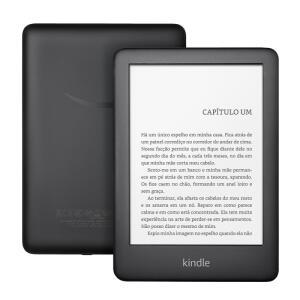 """E-reader Amazon Kindle 10ª Geração 6"""" Wi-Fi 4GB de Memória R$ 256"""