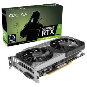 Placa de Vídeo Galax RTX 2060 Super (1-Click OC) 8GB GDDR6 - 26ISL6HP39SS