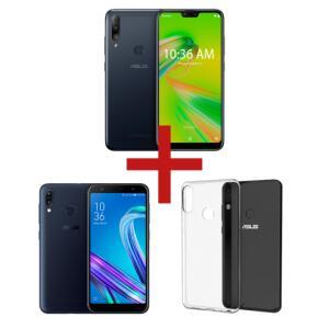 Zenfone Max Shot 3GB/32GB + ZenFone Max (M2) 3GB/32GB  + Bumper | R$ 1.169
