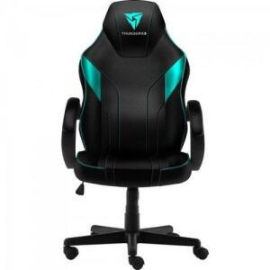 (AME  + CARTAO 1X R$404) Cadeira Gamer Ec1 Cyan Thunderx3