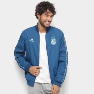 Jaqueta Argentina Hino Adidas Masculina - Azul | R$170