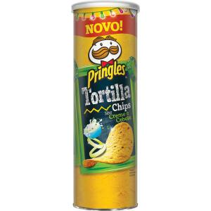 Tortilha Pringles Creme e Cebola - 180g - R$10