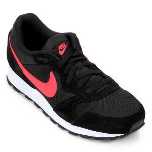 Tênis Nike Md Runner 2 Masculino - Preto e Vermelho   TAM: 38, 39, 40
