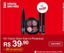 [APP] [40%AME] Kit Tracta Glam Eye (4 Produtos) | R$40