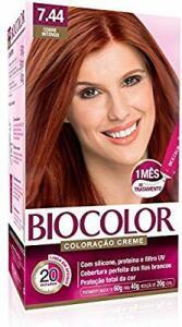 Kit Coloração Crème, Biocolor 7.44