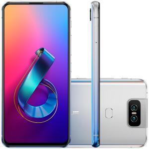 [10x S/Juros de R$: 269] Asus Zenfone 6 6 GB 64 GB 48MP Tela 6.4 Snapdragon 855
