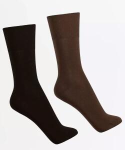 Kit com 2 pares de meia masculina social Lupo