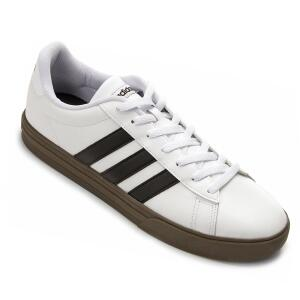 Tênis Adidas Daily Masculino - Branco e Preto