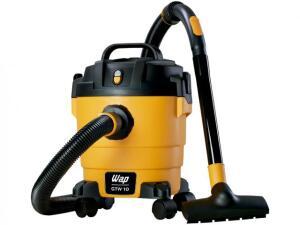 Aspirador de Pó e Água Wap 1400W GTW 10 - Amarelo e Preto R$ 199