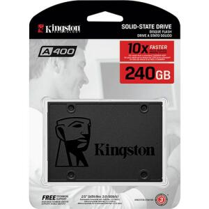(APP) SSD Kingston A400 240GB - 500mb/s Leitura e 350mb/s Gravação (Marketplace)(Frete grátis Prime)