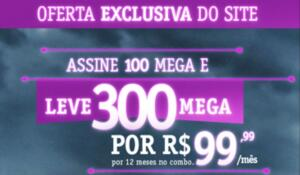 Vivo Fibra - Pague 100mb leve 300mb | R$130