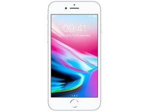 "iPhone 8 Apple 64GB Prata 4G Tela 4,7"""