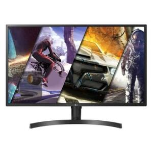 Monitor LG 32´ Widescreen 4K, IPS, HDMI/Display Port, FreeSync, Som Integrado, Ajuste de Altura - 32UK550-B