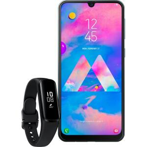 [APP] Smartphone Samsung Galaxy M30 - Preto + Galaxy Fit E | R$1.087