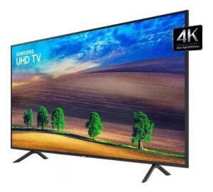 "Smart TV 58"" Samsung 58RU7100 UHD 4K | R$2.499"