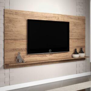 Painel para TV até 55 Polegadas Twin Siena Móveis Griggio R$ 90
