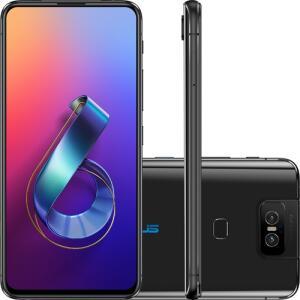 [R$: 2.194 AME] Asus Zenfone 6 64GB Snapdraon 855 - 24x S/Juros C.C. Shoptime