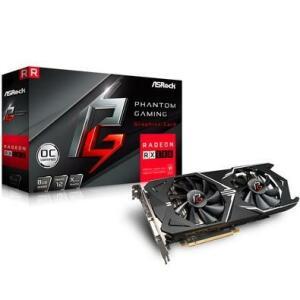 Placa de Video ASRock Phantom Gaming X AMD Radeon RX580 8G OC, GDDR5