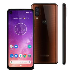Smartphone Motorola One Vision XT1970-1 Bronze 128GB, 4GB RAM | R$ 1319
