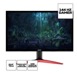 Monitor Gamer Acer Kg Full Hd 144hz 1ms Hdmi   R$949