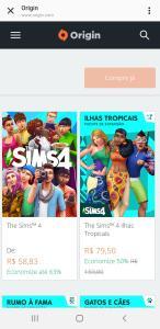 The sims 4 em promoção na origin