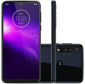 Smartphone Motorola One Macro 64 GB Azul Espacial R$ 1231