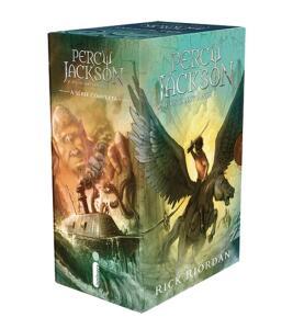 Box Percy Jackson 5 Livros
