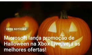Microsoft - Descontos de Halloween
