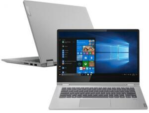 "Notebook 2 em 1 Lenovo Ideapad C340-14IWL-Intel Core i5 4GB SSD 128GB Touch Screen 14"""