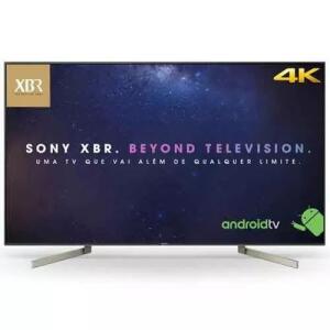 Smarttv 4k Sony 55 X-motion Clarity 4k X-reality Xbr-55x905f - R$3579