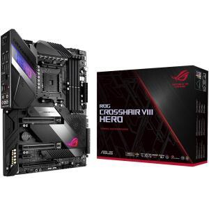 Placa-Mãe Asus ROG Crosshair VIII Hero, AMD AM4, ATX, DDR4 - R$2200