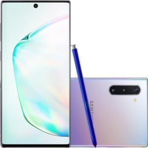 [APP e CC Americanas] Samsung Galaxy Note 10 (Prata e Preto) (AME R$2802,10)