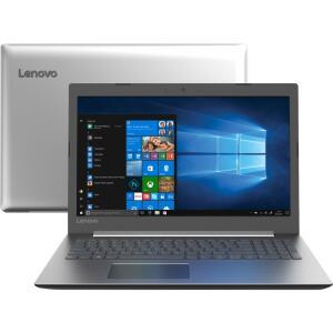 1x com Ame - Notebook Ideapad 330 7ª Intel Core i3 4GB 1TB W10 HD 15.6'' Prata - Lenovo