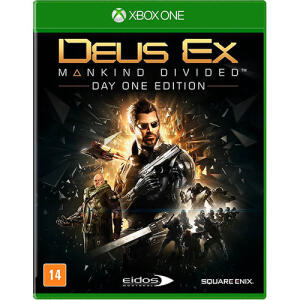 (1° Compra) Game - Deus Ex: Mankind Divided - Xbox One