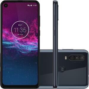 [R$1.046 AME] Smartphone Motorola One Action 128GB + 4GB RAM | R$1.231