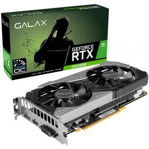 Placa de Vídeo Galax GeForce RTX 2060 Super (1-Click OC), 8GB GDDR6, 256Bit,