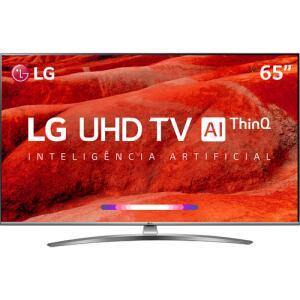 [R$3.325 AME] Smart TV LED LG 65'' 65UM7650 UHD 4K + Controle Smart Magic | R$3.779