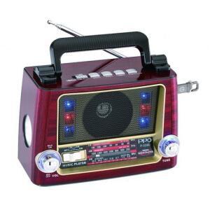 ($119 com AME) Rádio Portátil Retrô Vicini Bluetooth Com Am/fm/sw. Entradas Usb E Auxiliar