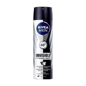 Desodorante Antitranspirante Aerossol Invisible For Black & White - 150ml - Nivea R$ 11