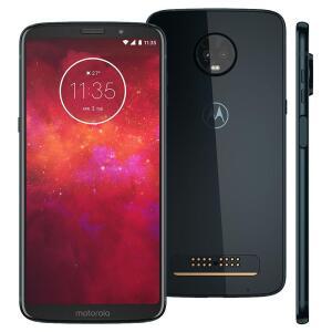 Smartphone Motorola Moto Z3 Play Índigo 64GB R$ 1011
