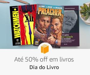 Dia do Livro - Até 50% Off