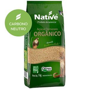 R$3,79 - Açúcar Demerara Orgânico Native 1kg