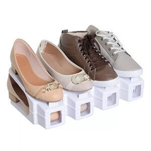 Organizador Rack Sapato, 20 unidades, Branco R$ 80